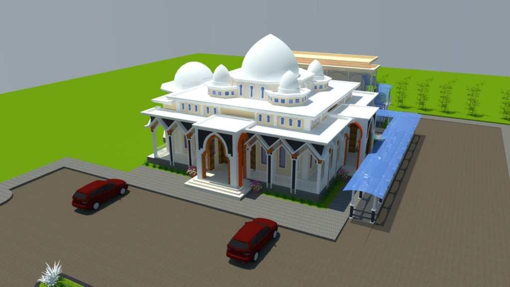 Bangun Masjid, SMU Negeri 1 Batipuah Bakal Jadi Icon Nagari Batipuah