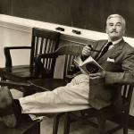William Faulkner en la Universidad de Virginia