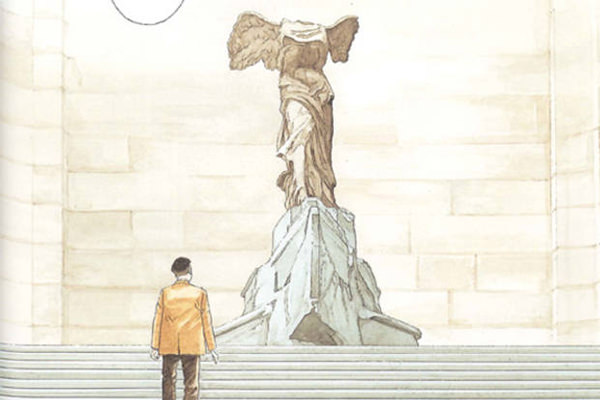 Los guardianes del Louvre - Jiro Taniguchi