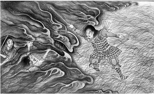Cuentos tradicionales de Japon - Una espada milagrosa
