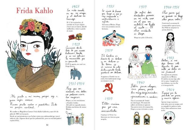 Frida Kahlo de María Hesse. Biografía