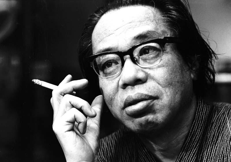 El escritor japonés Seicho Matsumoto