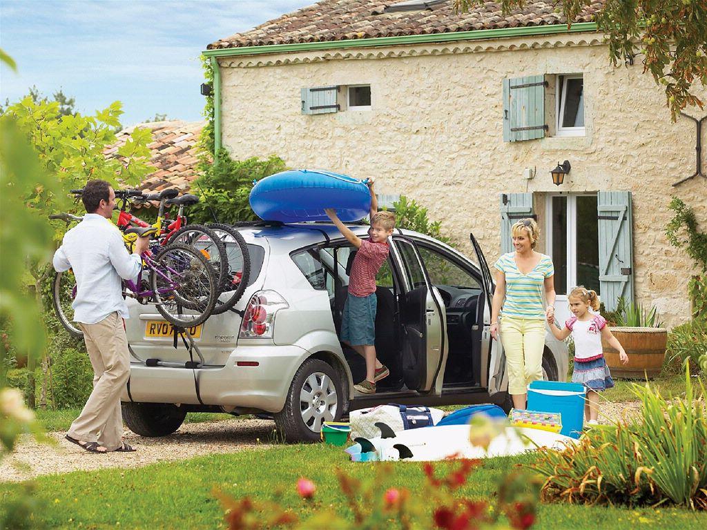 Mit dem Auto in die Ferien