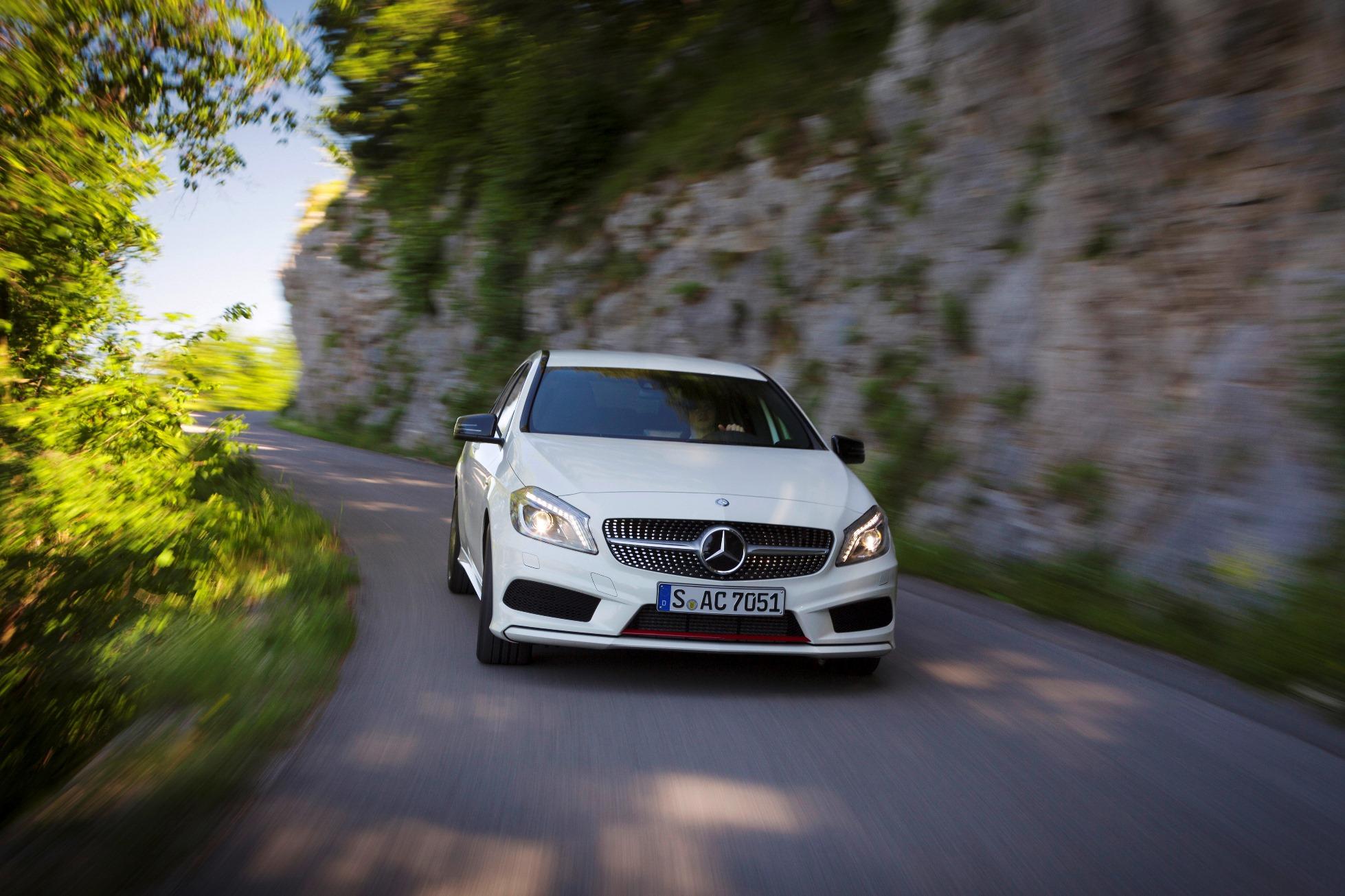Pulsbeschleuniger: Mercedes-Benz A-Klasse