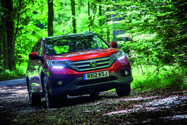 Honda CR-V: Unter Druck gesetzt