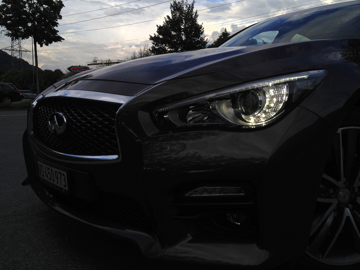 Infiniti Q50S Hybrid: It's magic