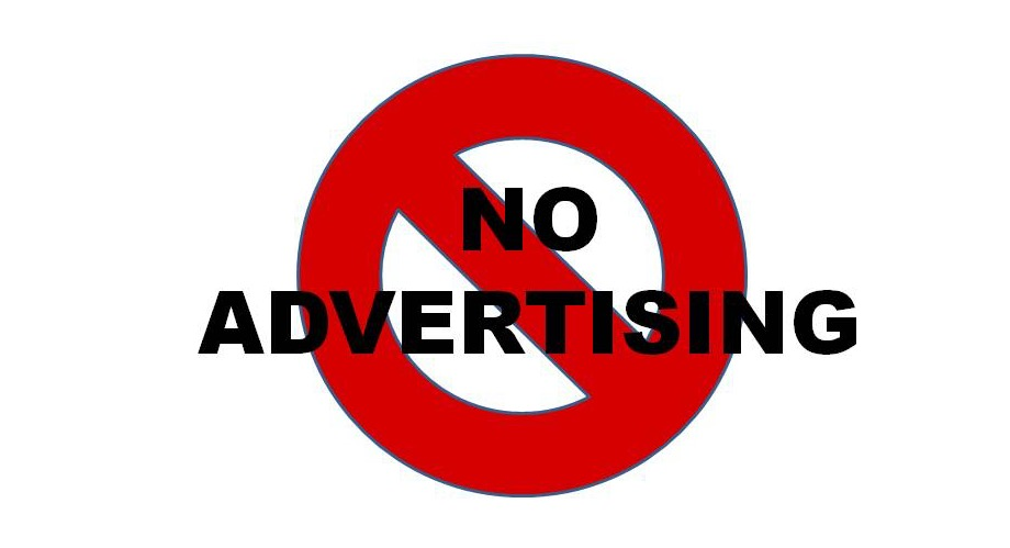 No Advertising
