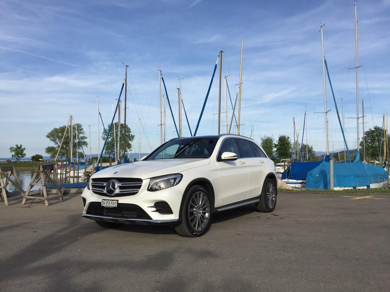 Luxusdampfer: Mercedes GLC