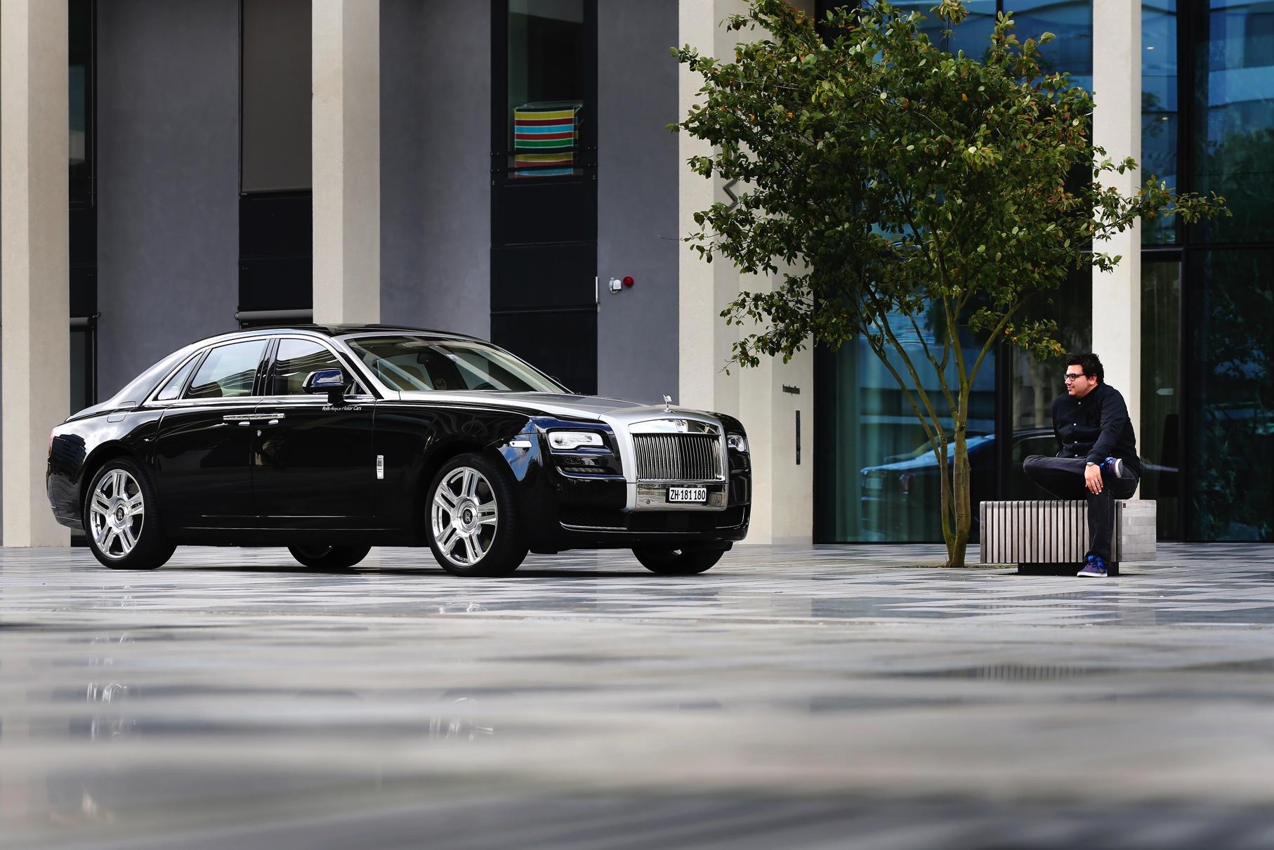 Rolls-Royce Ghost: Audienz mit euer Majestät
