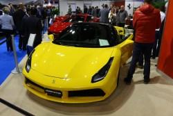 Ferrari 488 GTB Spider. Testwahrscheinlichkeit: Winzig