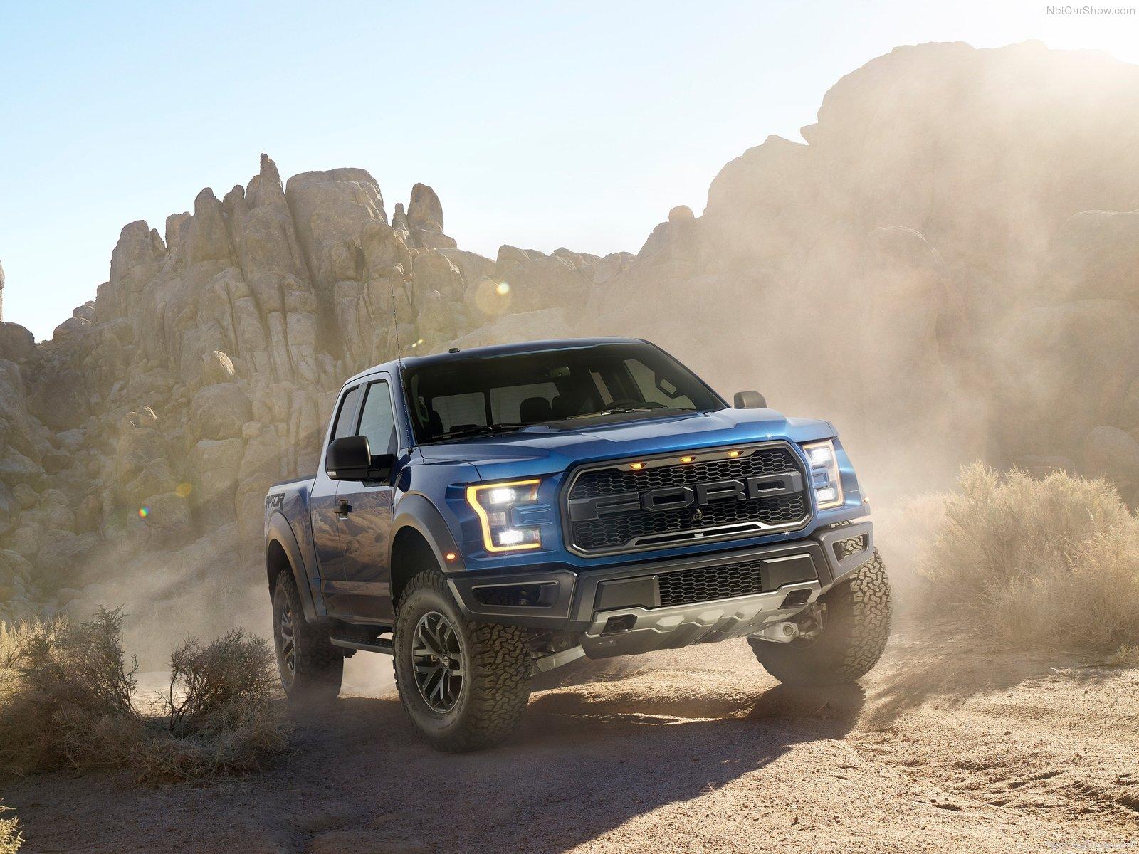Zu Ehren Trumps: Ford F150 Raptor Trump-Edition