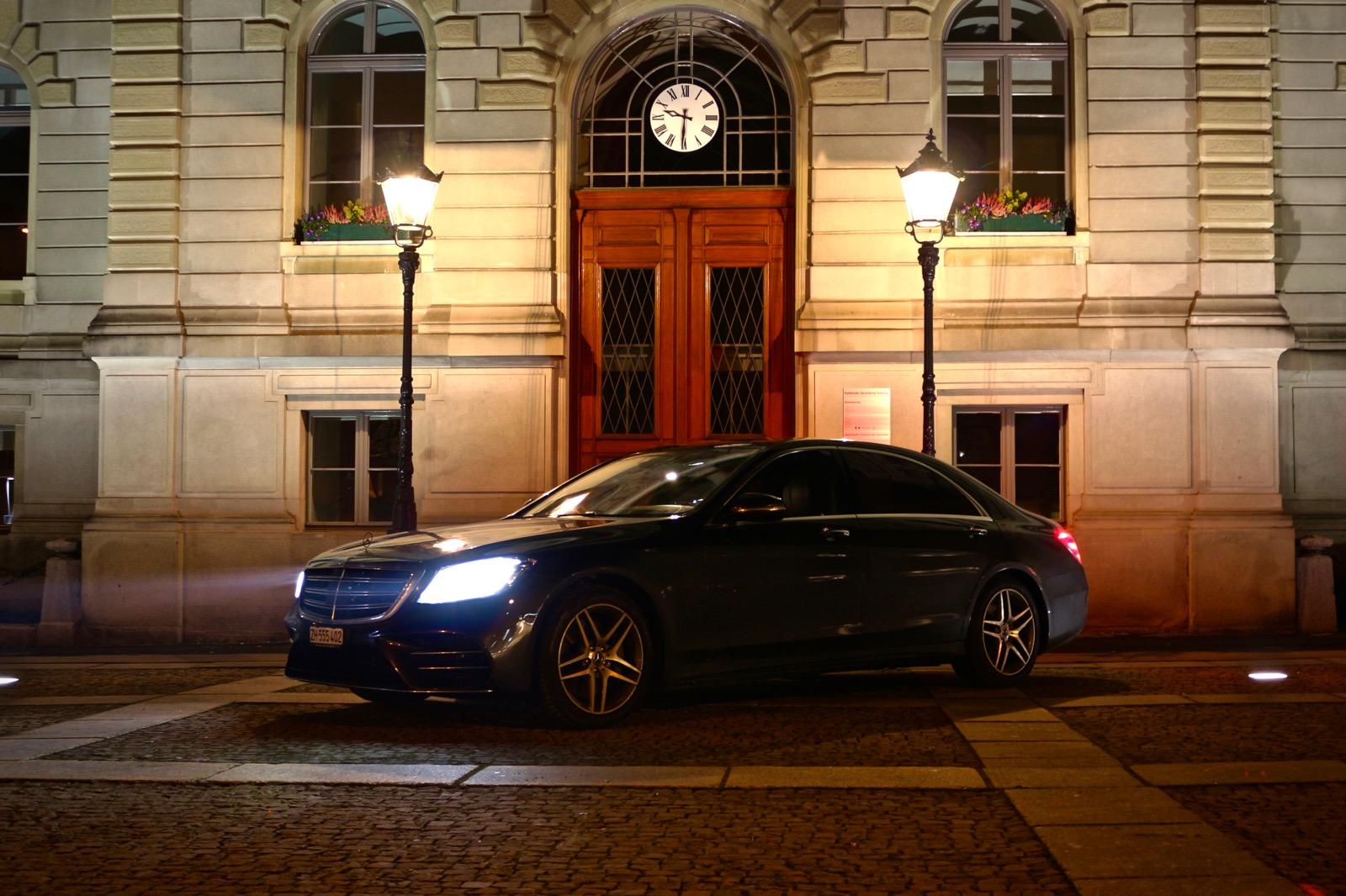 Penthouse: Mercedes S-Klasse
