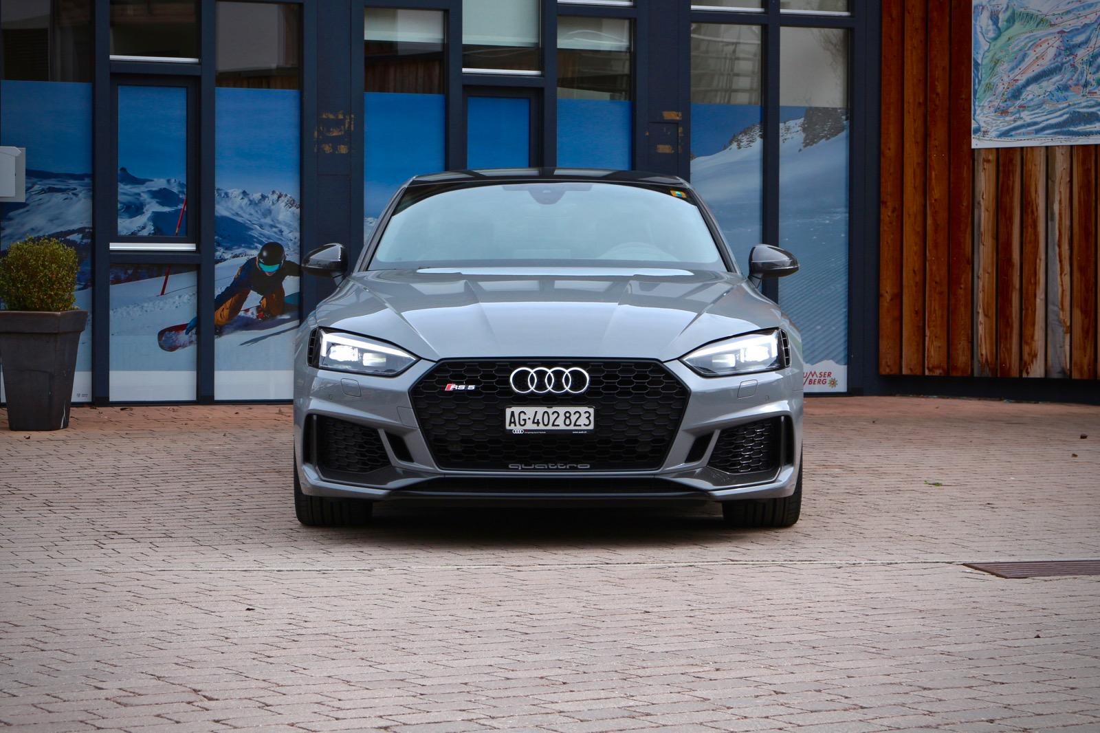 Audi RS5: Eiskalter Spitzensportler