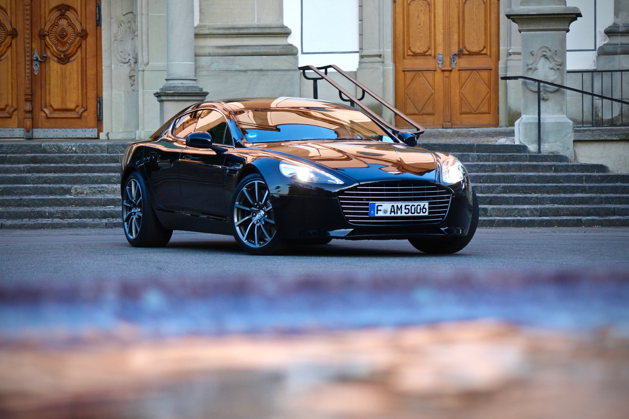 Zeitreise: Aston Martin Rapide S