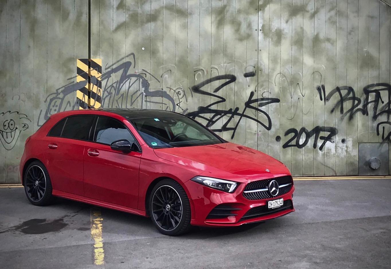 Der Streber in der Mercedes A-Klasse