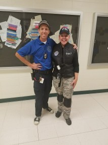 "Hometown Hero's Day - Mr. Korba dn Mrs. Smith - Bad Boys Bad Boys... Whatcha Gonna Do? ""COPS"""