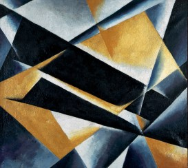 Liubov Popova: http://images.tate.org.uk/sites/default/files/images/painterly.jpg at the Tate Modern:http://www.tate.org.uk/context-comment/articles/short-life-equal-woman