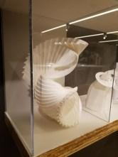 Paper Sculptures at the Milwaukee Art Museum