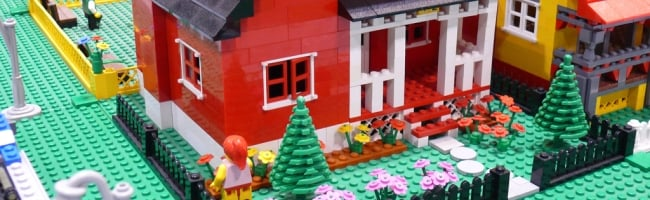 house Il va construire une maison en Lego