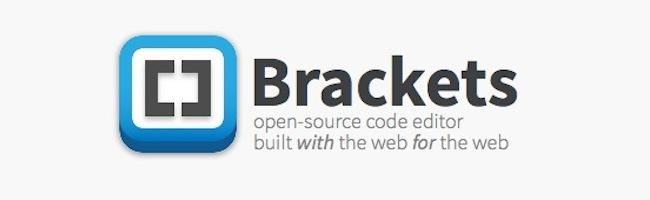 Brackets, editeur de code