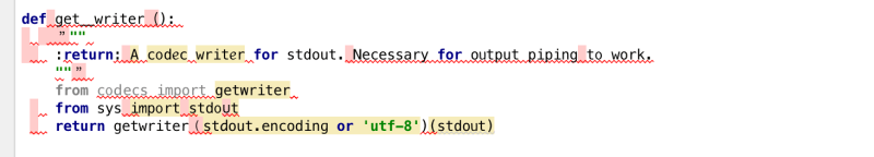 some worse code
