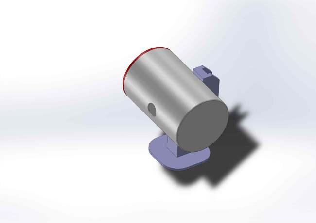 Boitier cylindrique Vue1