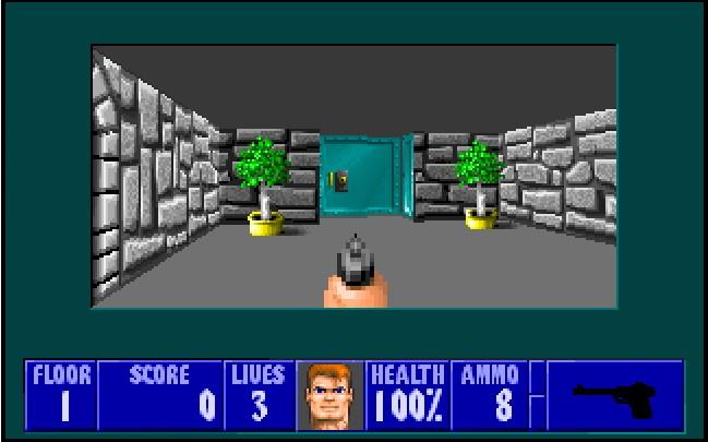 Wolfenstein 3D en jeu