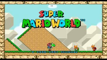 Super Mario World en 16:9 – Korben