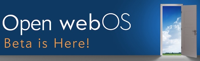 Open WebOS sort en beta 1.0