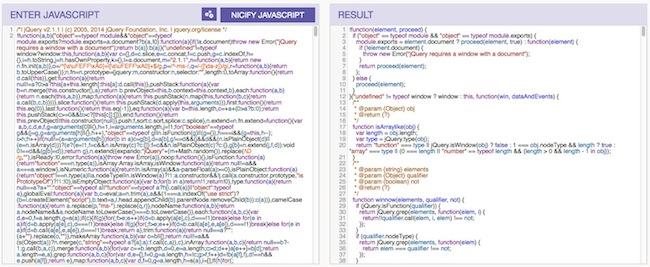 nice Comment déminifier un code Javascript