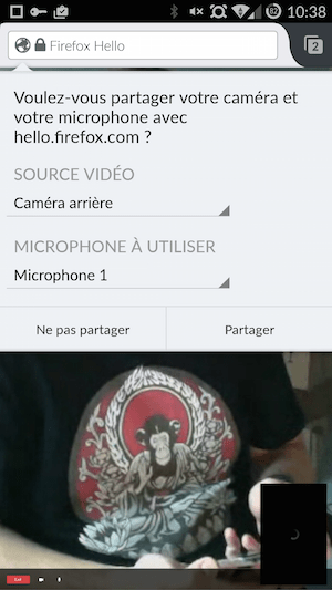 ff2 Dites bonjour à Hello, et passez vos appels directement depuis Firefox