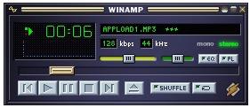 llama Winamp en HTML / Javascript