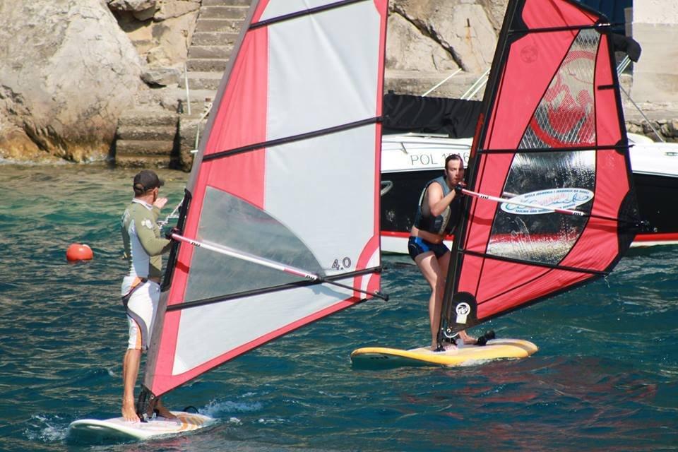 extreme windsurfing lessons grscica 2013 09 - Škola jedrenja 2013