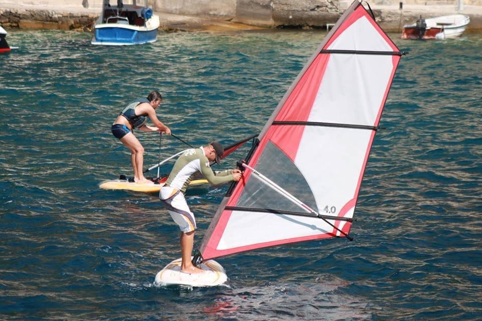 extreme windsurfing lessons grscica 2013 11 - Windsurfing School - Summer 2013