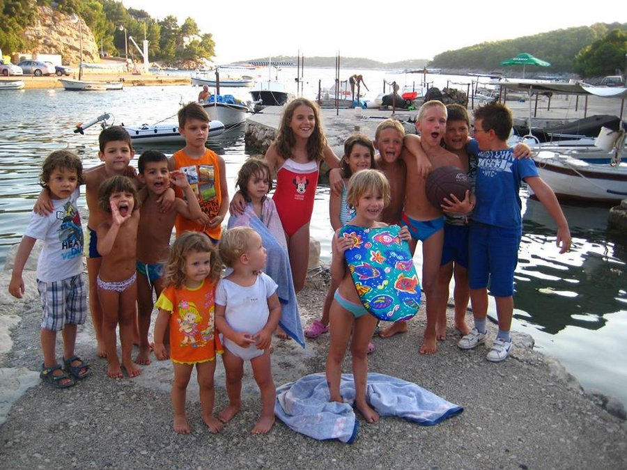 polaznici skole jedrenja extreme grscica 2013 01 - Windsurfing School - Summer 2013