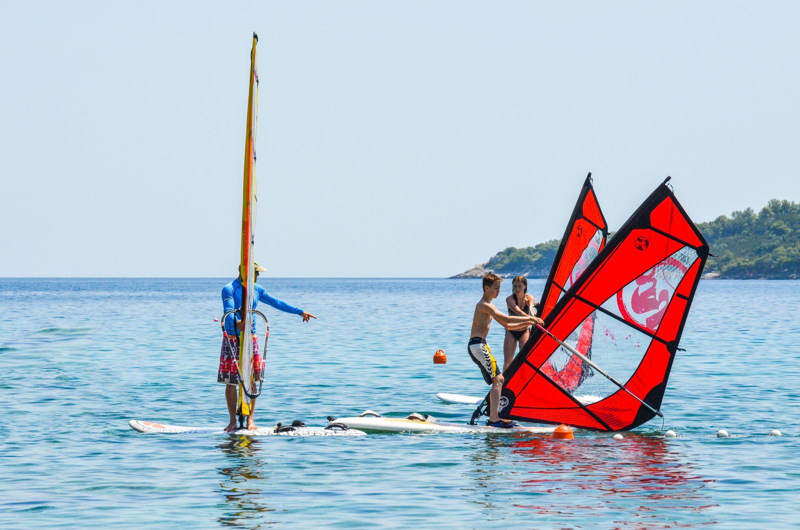 windsurfing school korcula prizba extreme 01 - Škola jedrenja na dasci Korčula Extreme - Prižba