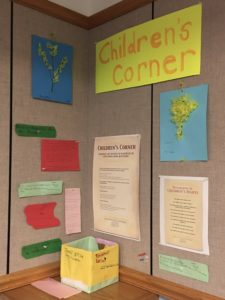 Children's Corner at Exhibit