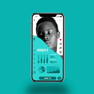 An Insights app UI design