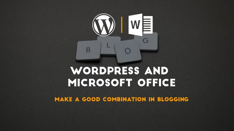 WordPress and Microsoft Word are best for a blogger