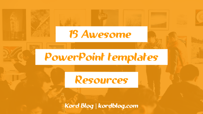 Awesome PowerPoint templates resources