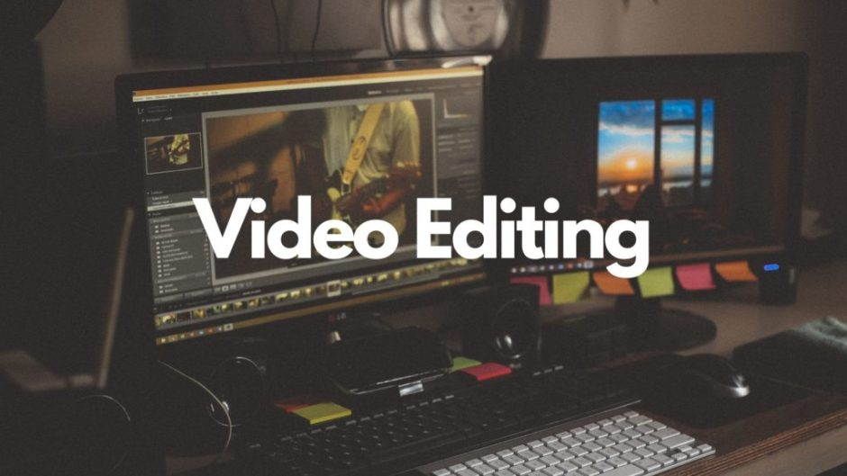 You can make video edit