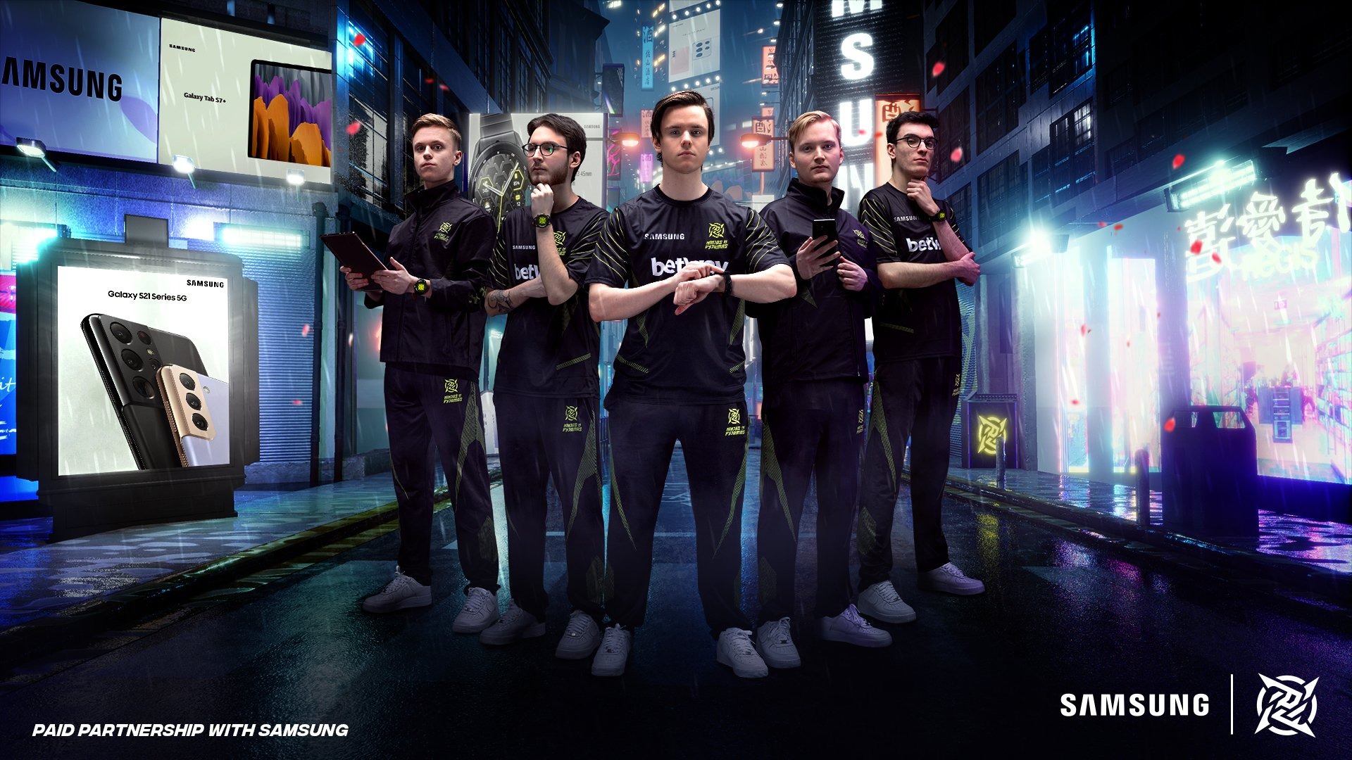 NiP Partner With Samsung In Three-Year Deal