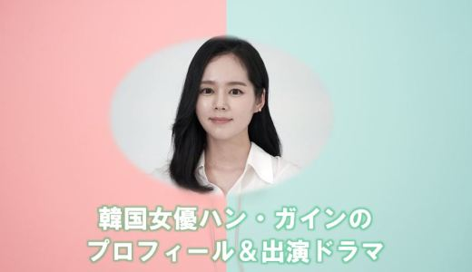 韓国女優ハン・ガイン(ハンガイン)の出演ドラマを調査!夫と子供の現在は?