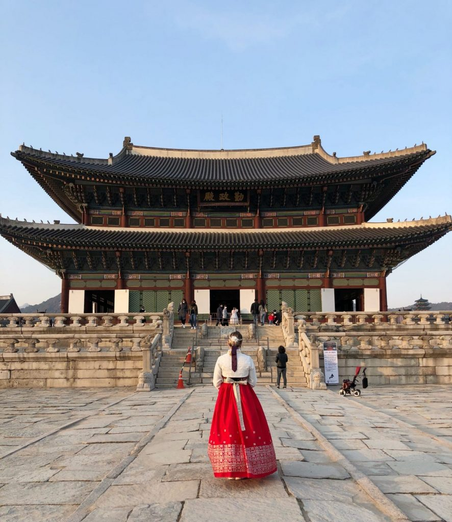 Renting a Hanbok