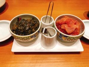 明太子、高菜②