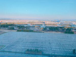 駐車場+空港