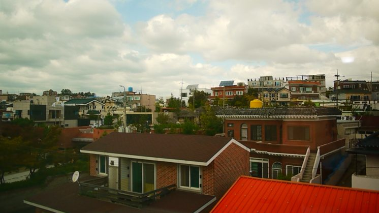 The view from my neato little side-room.