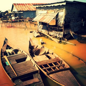 Tonle Sap Lake - Floating Village