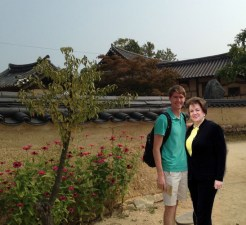 We checked out a Hanok Village.