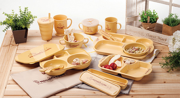 & Biodegradable Natural Tableware for Kids - Korean-Products.com